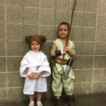 These girls have found the force at an early age