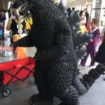 Godzilla came quite a distance from Japan to visit FXD17