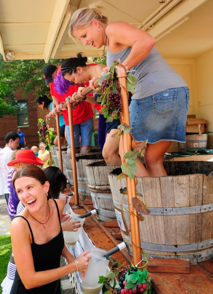 GrapeFest's GrapeStomp