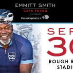 Pedal for a cause at the Emmitt Smith Gran Fondo