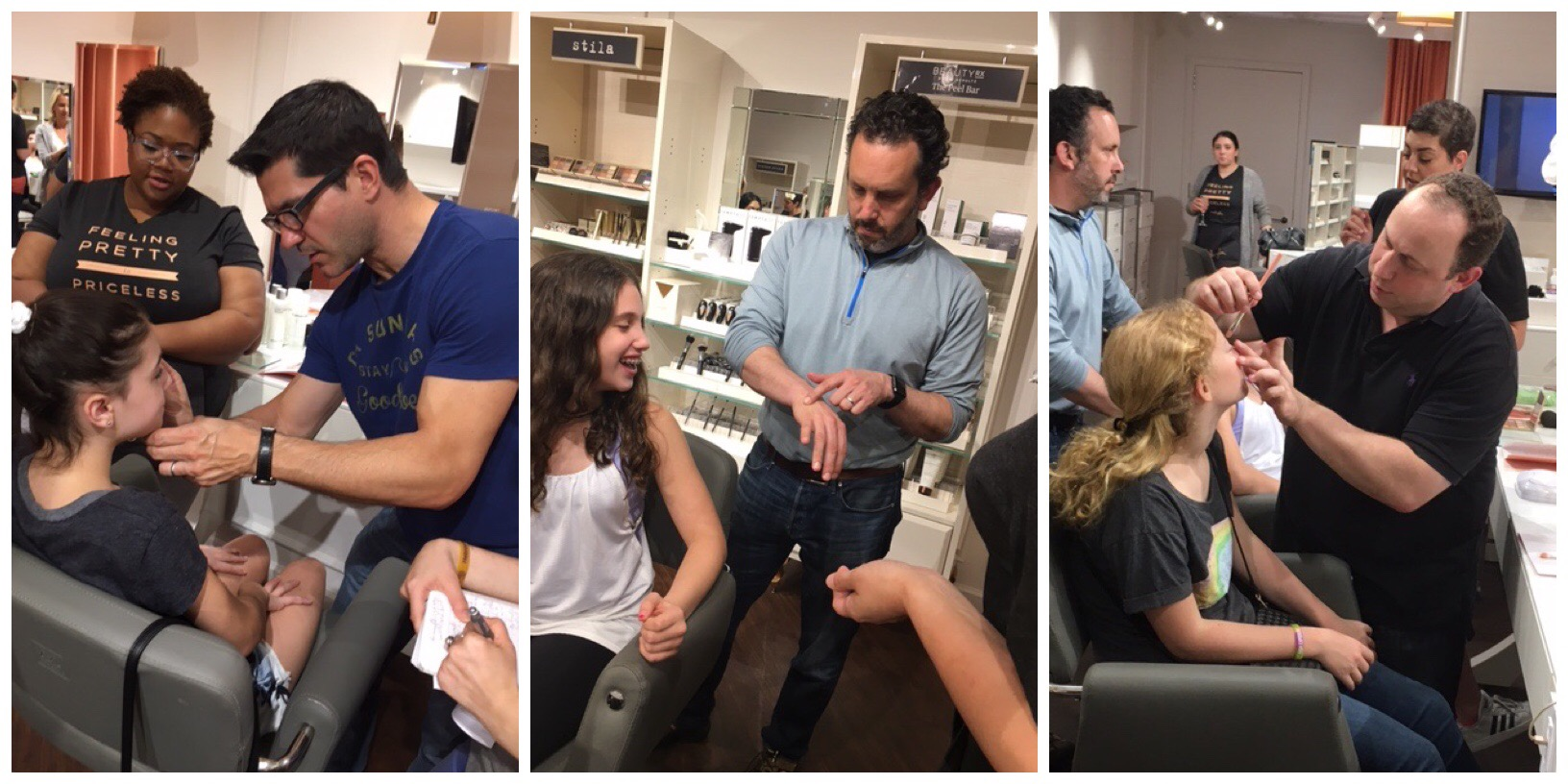 Blushington Offers Makeup 101 Classes For Dads & Daughters