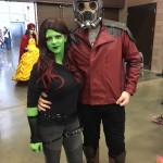 Even Guardians took a break to check out Fan Days Dallas