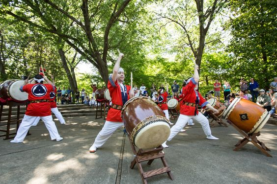 Japanese Garden Fall Festival With Dance Troupes Martial Arts Papermaking And More Kicks Off ...
