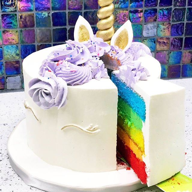 Unicorn Rainbow Cultivated Cakes Kathy Nguyen I Live In Dallas