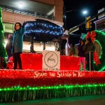XTO Energy Parade of Lights delivering
