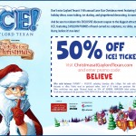 Gaylord Texan's 14th Annual Lone Star Christmas - ICE! Exhibit, 2MM Lights - Here's Your 50% Discount